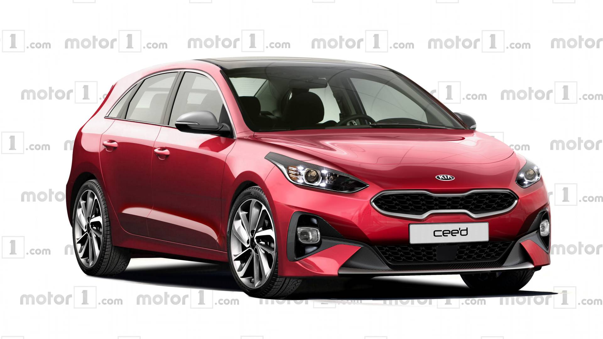 2018 Kia Cee D Rendered With Inspiration From Proceed Concept