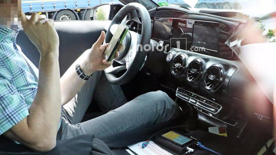 2018 Mercedes A-Serisi casus fotoğrafları