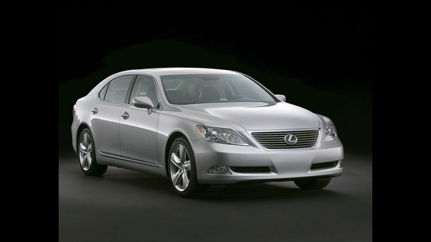 Nuova Lexus LS