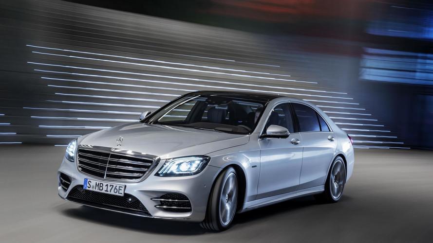 Mercedes S560e híbrido, imágenes oficiales