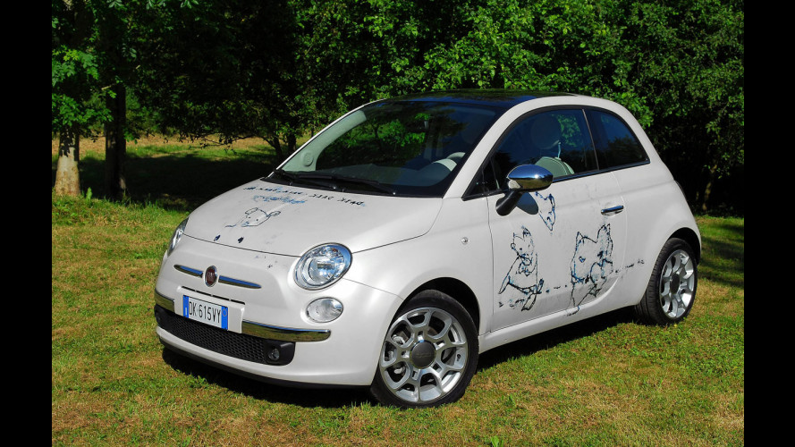 "Una Fiat 500 ""d'artista"" venduta a 250.000 euro"