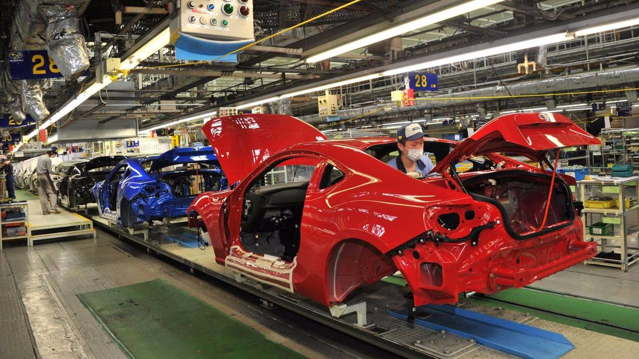 Subaru BRZ Production
