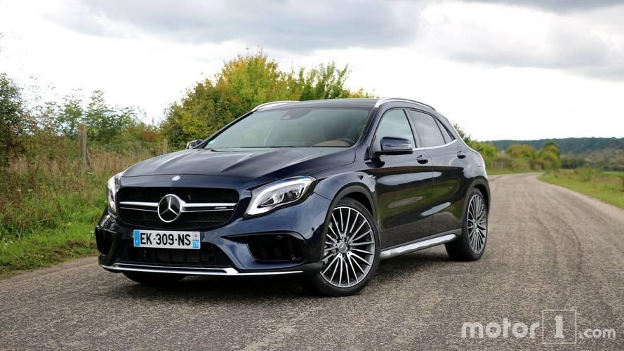 Essai Mercedes-AMG GLA 45 - Encore perfectible