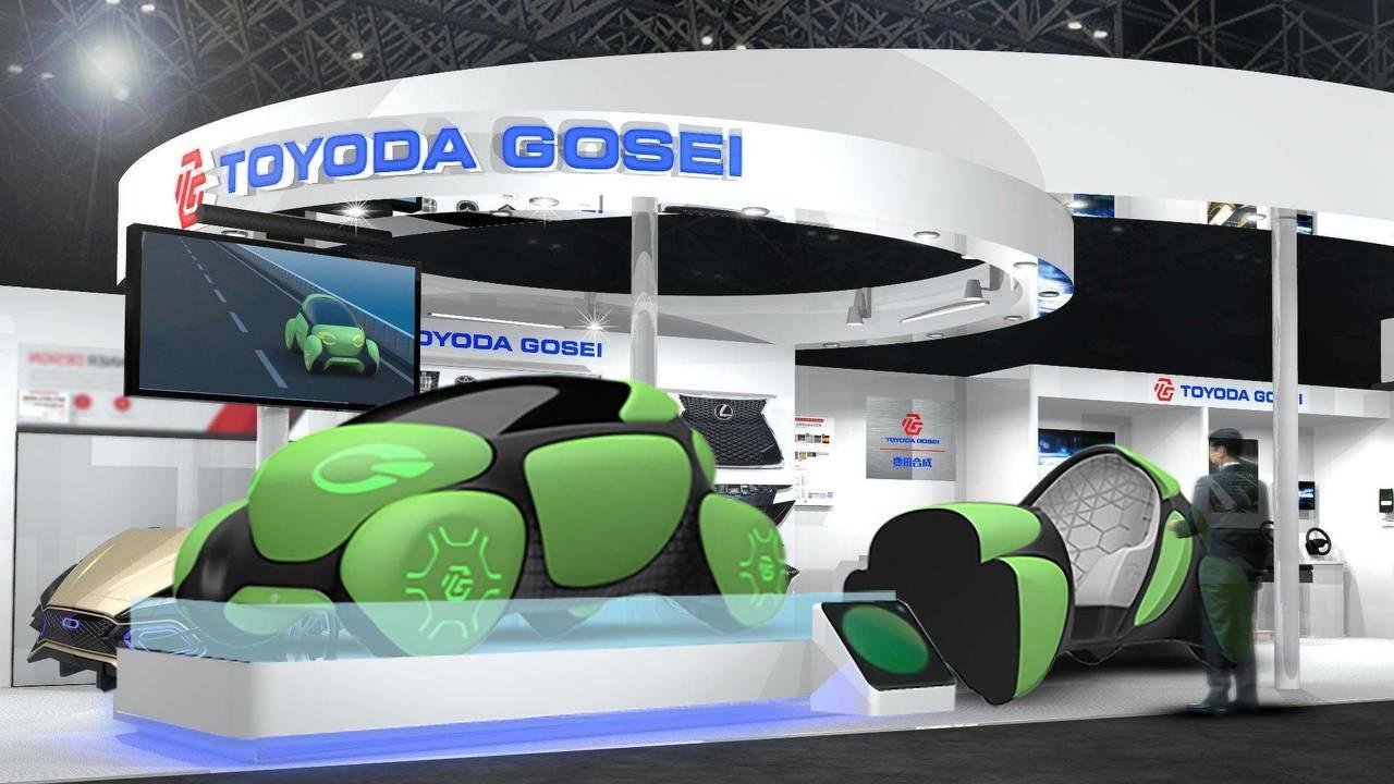 Toyoda Gosei Flesby II Concept rubber bubbles