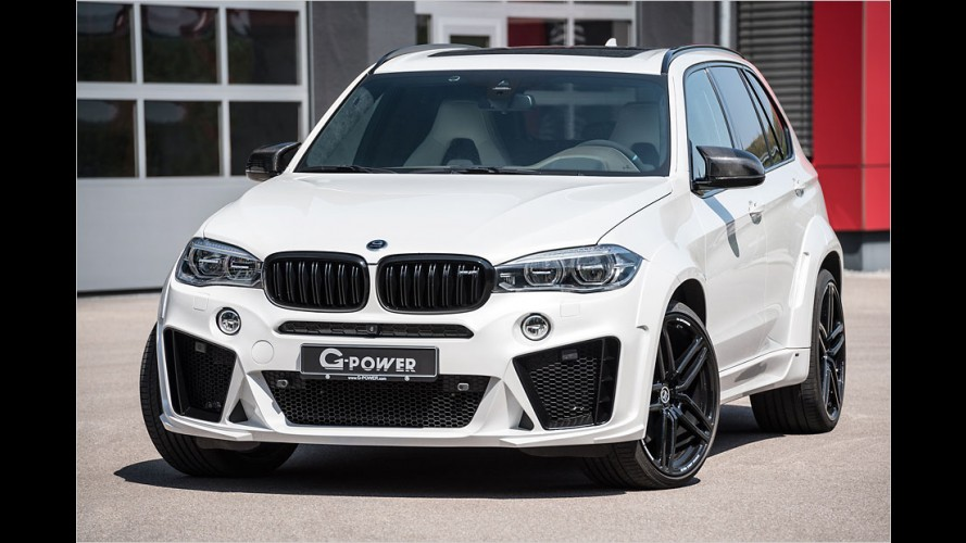 G-Power X5 M Typhoon: Bombastischer BMW