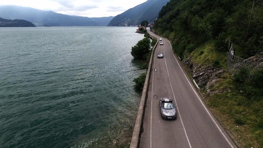 BMW i8 Roadster teaser