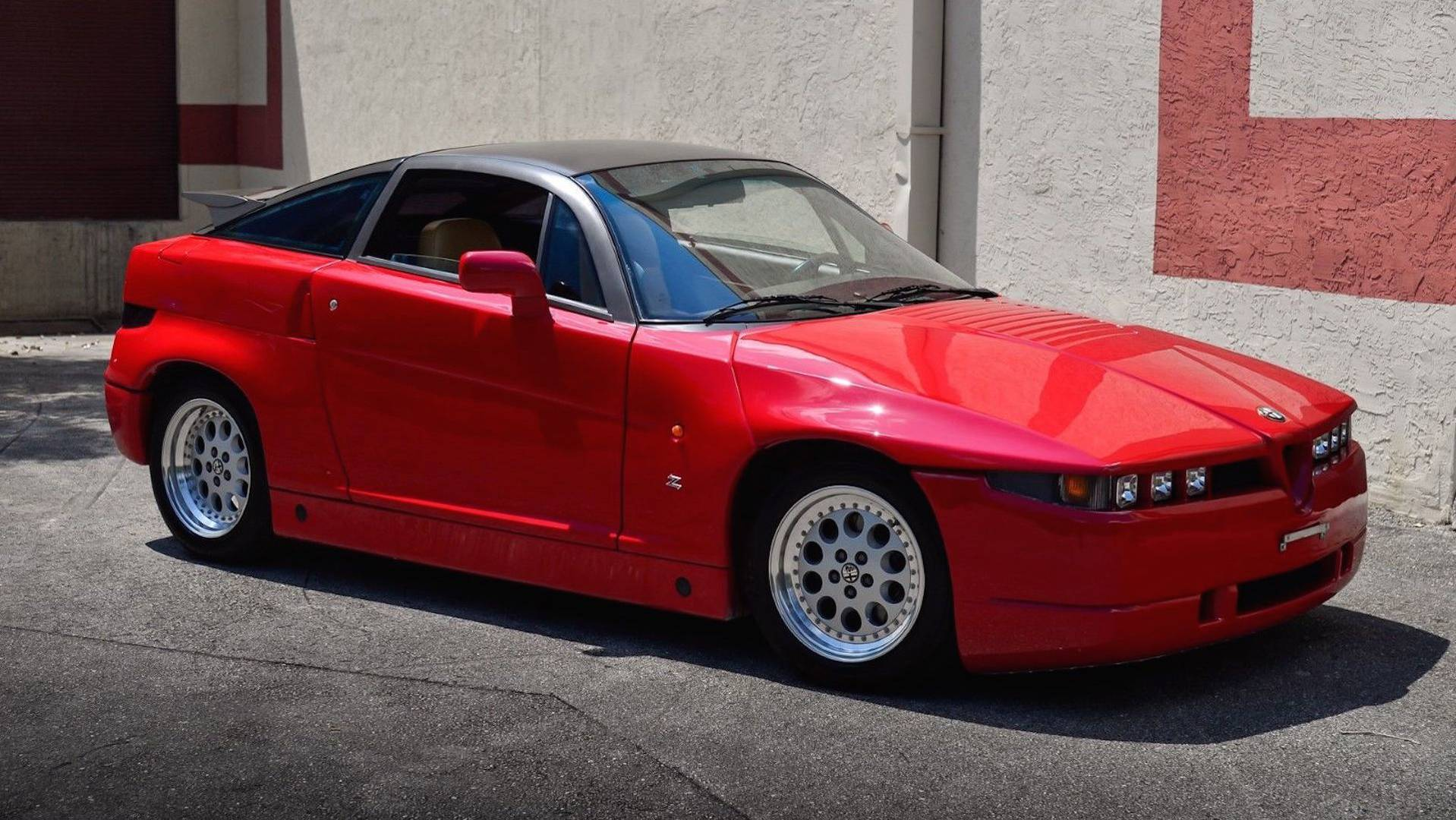 Alfa Romeo Zagato >> 1990 Alfa Romeo Sz Ebay Find Is A Beautiful Monster