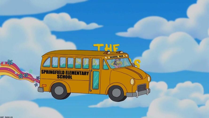 Seat Alhambra transformé en bus des Simpson
