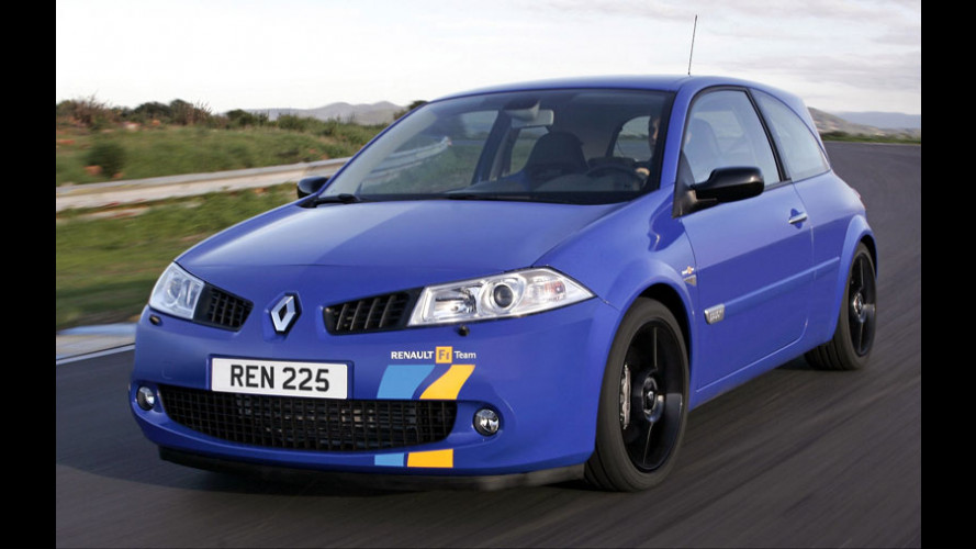 Renault Megane F1 Team Limited Edition