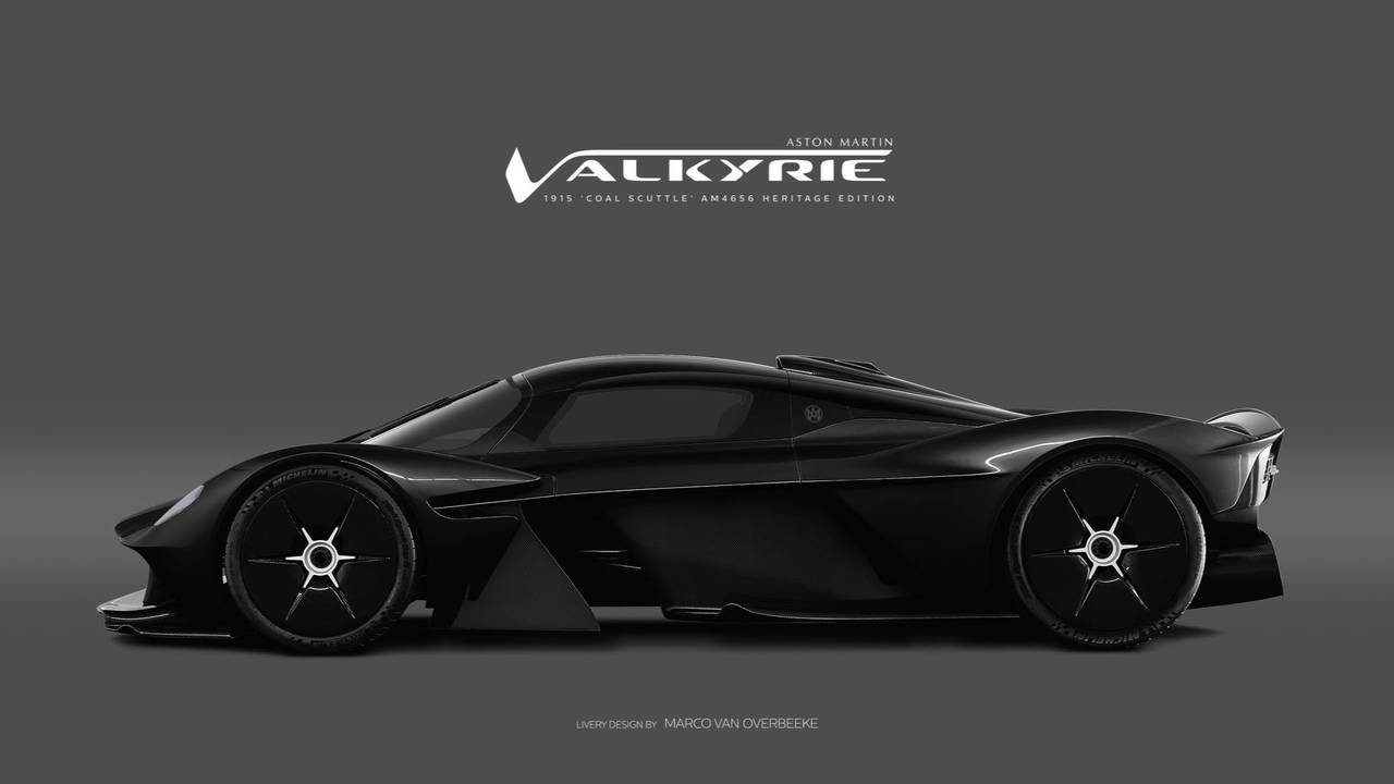 Which Livery Looks Best On The Aston Martin Valkyrie