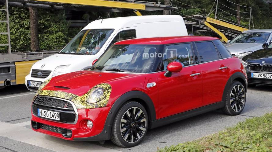 2018 Mini Cooper S spy photos