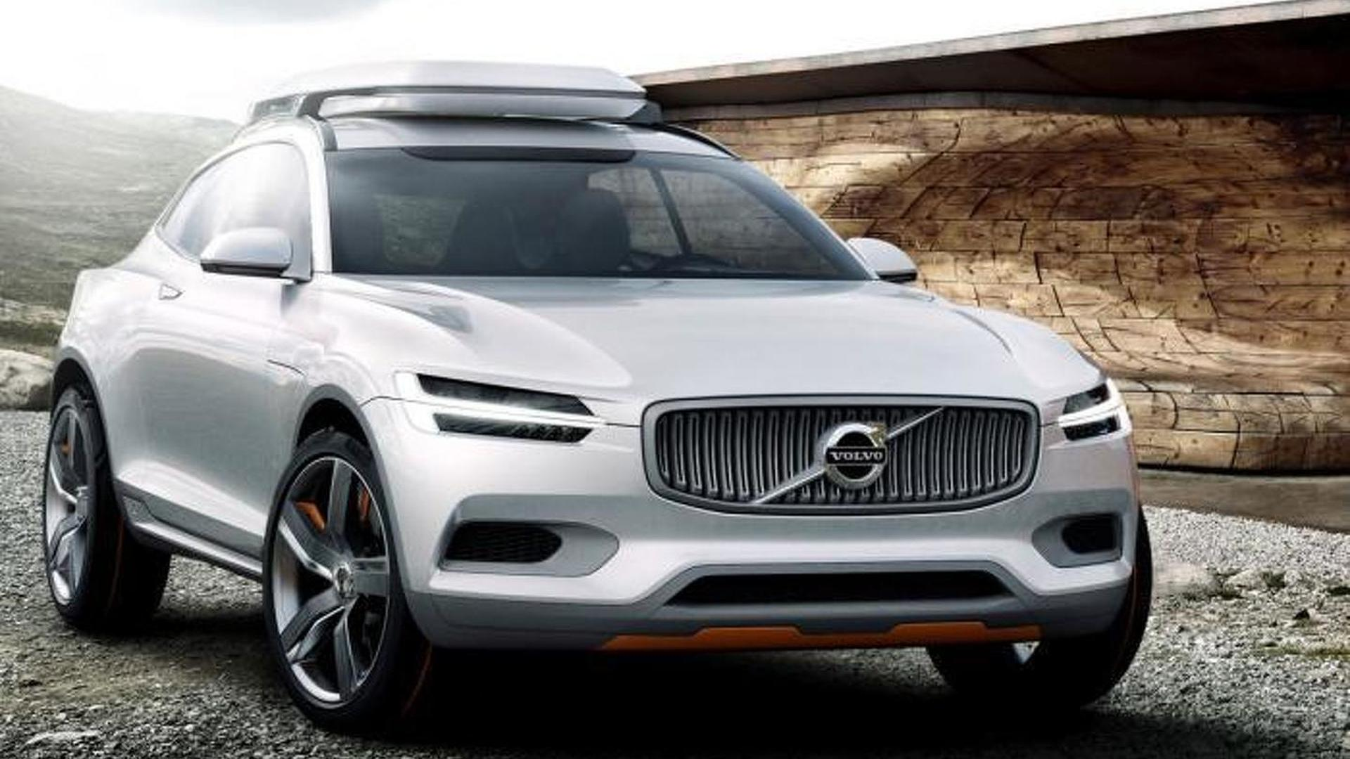 Volvo Shows Off The Concept Xc Coupe Previews The 2015 Xc90