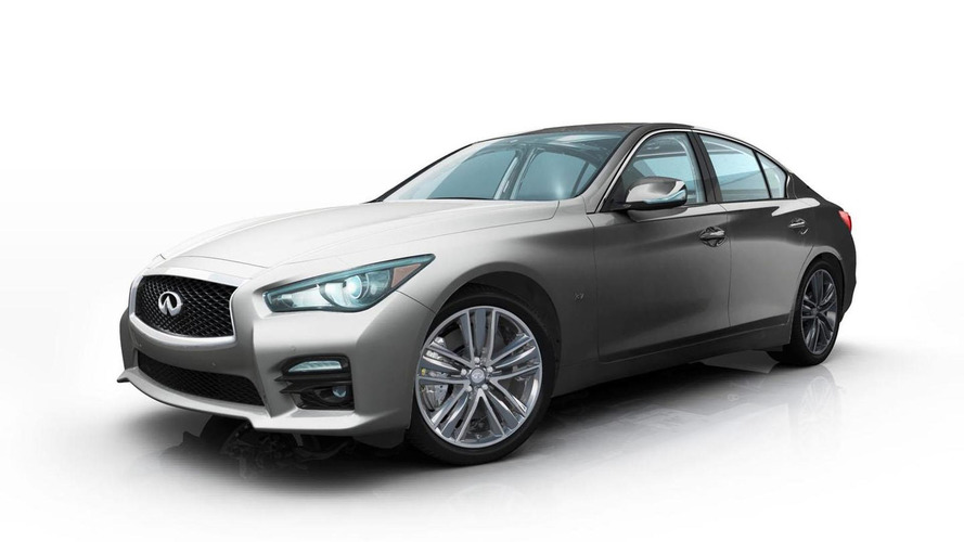 Infiniti to offer two one-off Q50s on Gilt