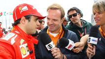 Felipe Massa with Rubens Barrichello 24.11.2013 Brazilian Grand Prix