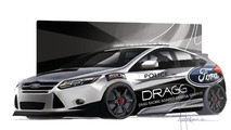 DRAGG Ford Focus ST for SEMA 21.10.2013