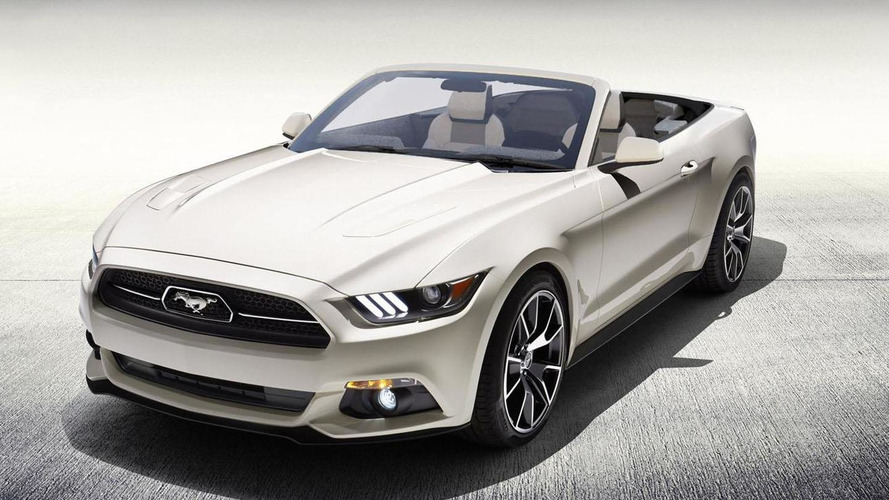 Ford to raffle a one-off 2015 Mustang 50 Years Convertible