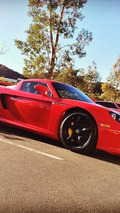 Porsche Carrera GT belonging to Paul Walker's friend