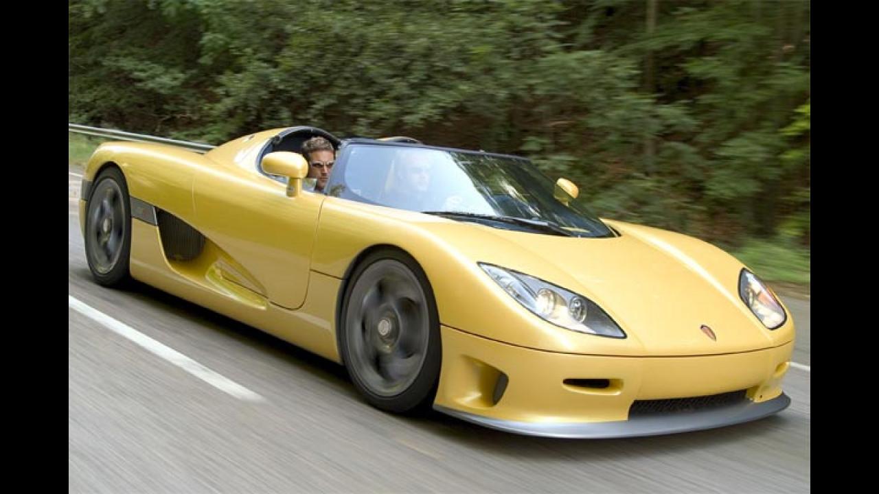 Koenigsegg CCR: 3,2 sec
