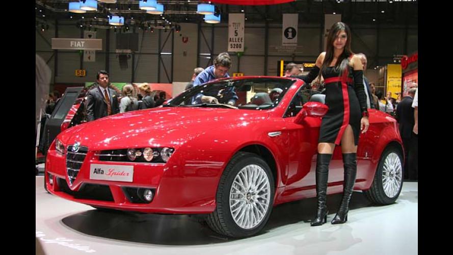 Die stärksten Mobile auf dem Genfer Auto-Salon 2006