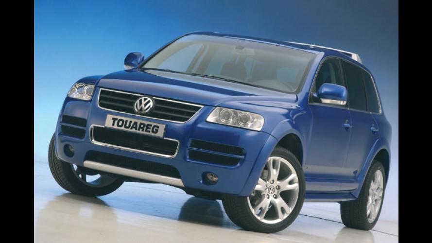 VW Touareg Sport: Ein erster Vorgeschmack auf den R50?