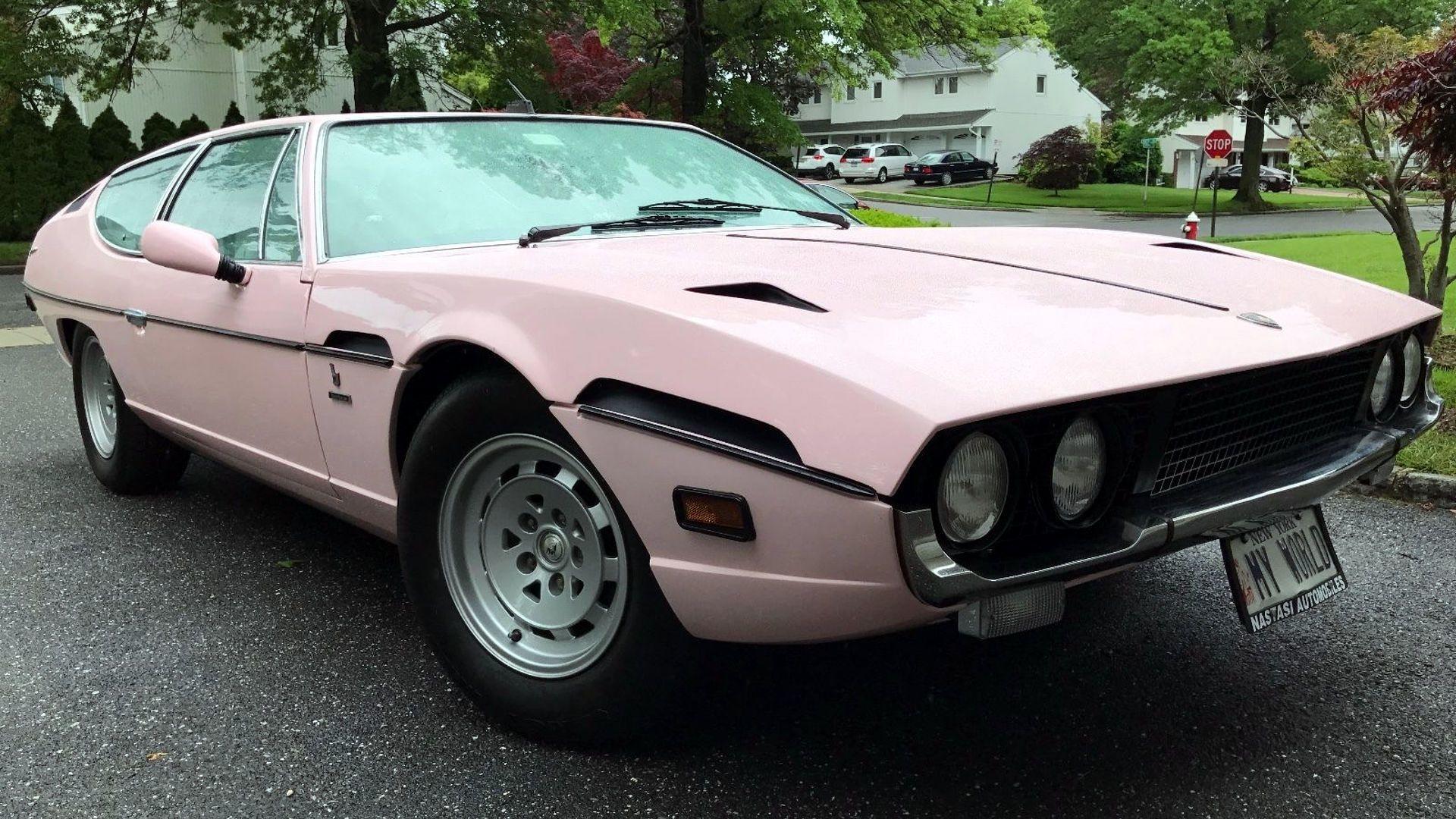 Pink Lamborghini Espada Fails To Sell On Ebay