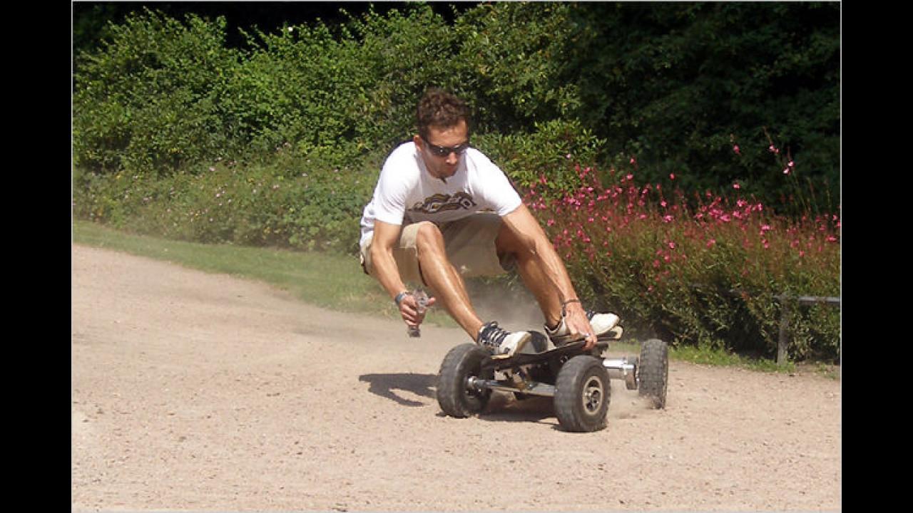 MoBo: Elektro-Skateboard mit Funkfernbedienung