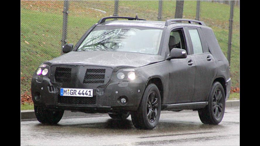 Klein und kantig: Der Mercedes GLK im Erlkönig-Dress