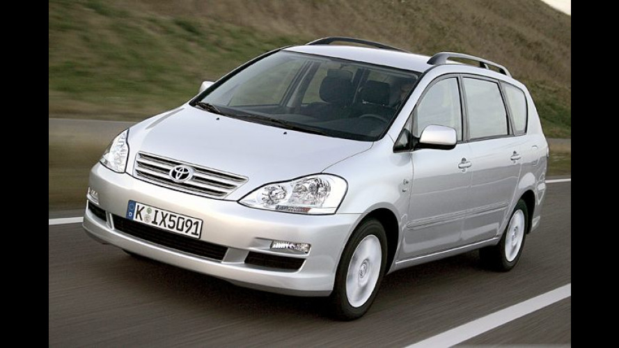 Toyota Avensis Verso: Jetzt mit mehr Komfort und Sicherheit