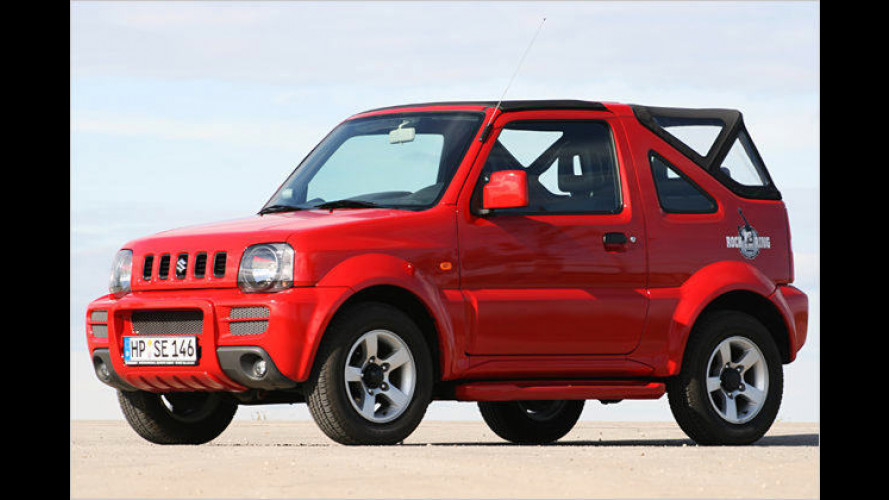 Power of music: Suzuki Jimny Cabrio Rock am Ring