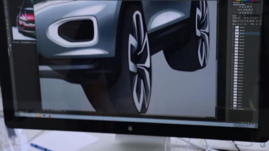 VW T-Roc 2018, capturas de pantalla