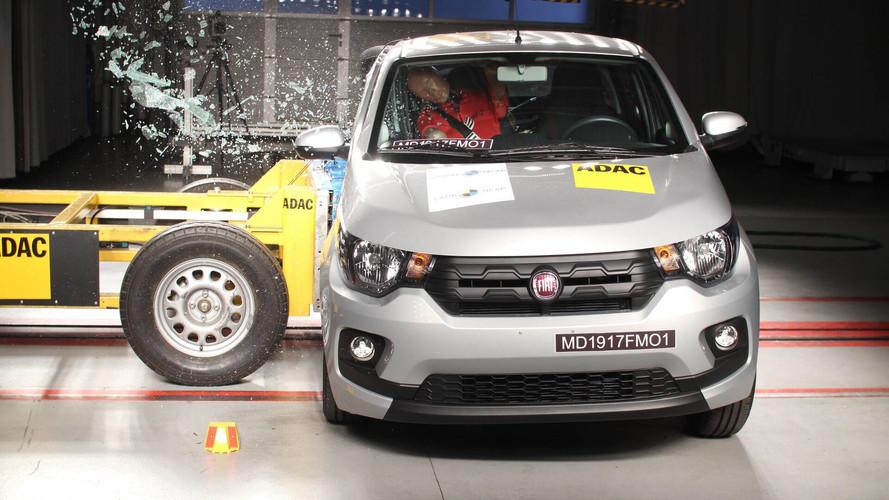 Fiat Mobi leva apenas 1 estrela na mais nova rodada do Latin NCAP