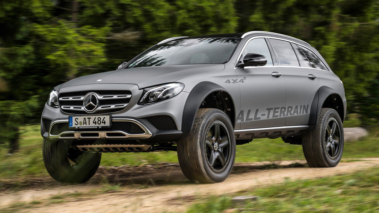 Mercedes E Serisi All-Terrain 4x4²