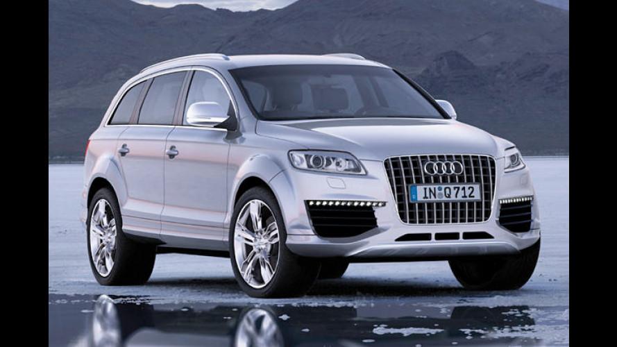 Premiere: Audi Q7 mit dem stärksten Pkw-Diesel der Welt