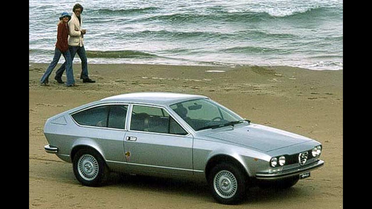 Sportwagen-Ikonen aus den 70er-Jahren - Alfa Romeo Alfetta GT