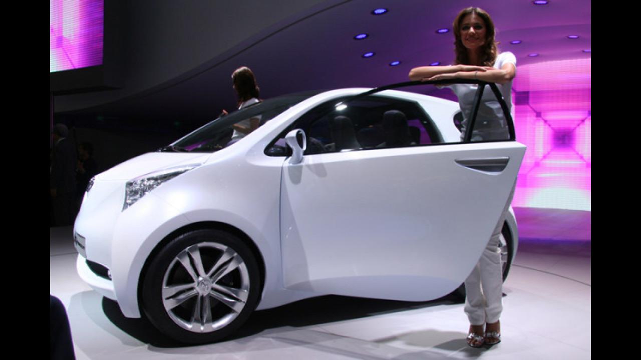 Toyotas Konzeptauto IQ kommt mit aufregendem Design