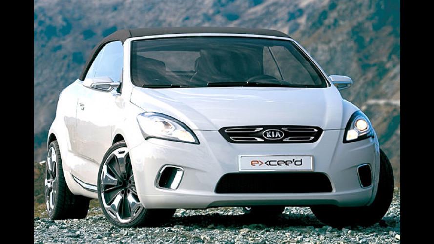 Kias neues Kompakt-Cabrio: Der Ex Cee'd kommt nach Genf