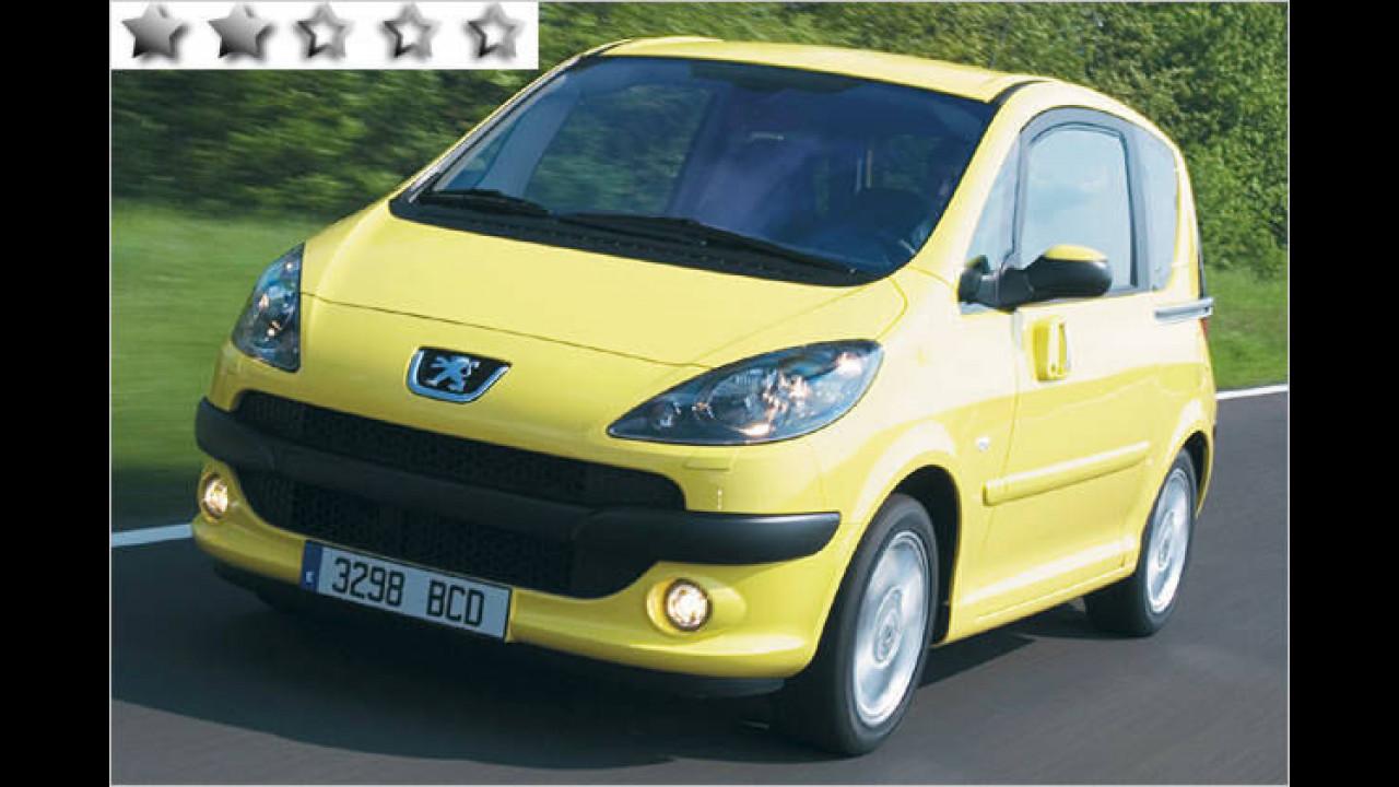 Peugeot 1007 75 Filou: 48 Punkte