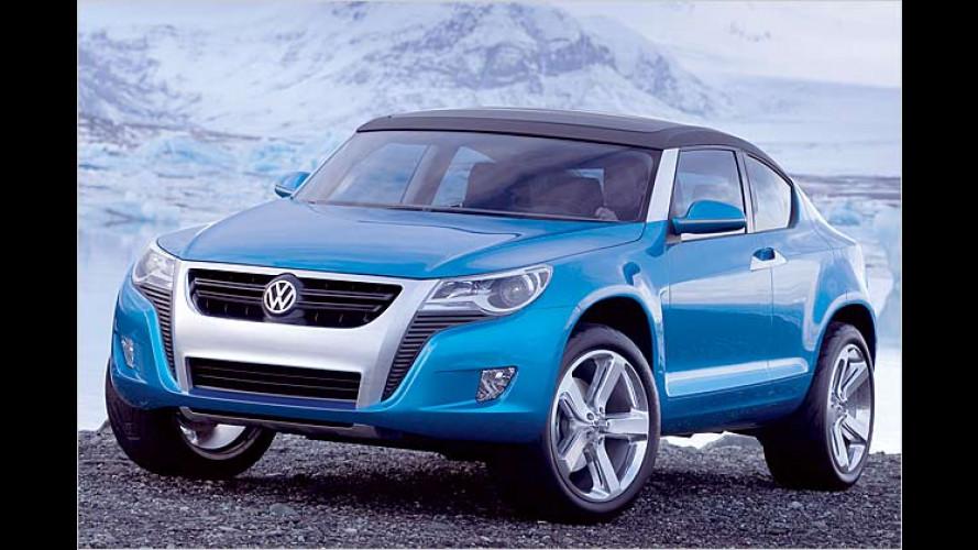 VW präsentiert SUV-Sportler Concept A: Neues Terrain