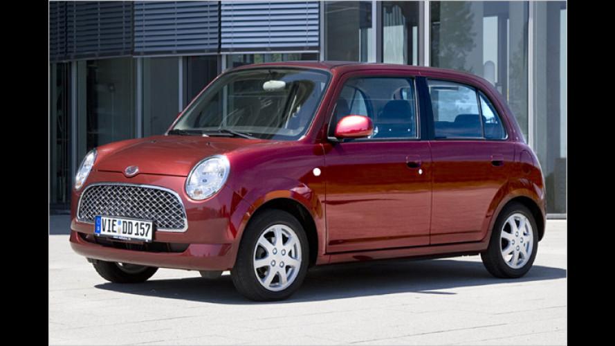 Zum Abschied ein Sondermodell: Daihatsu Trevis Limited