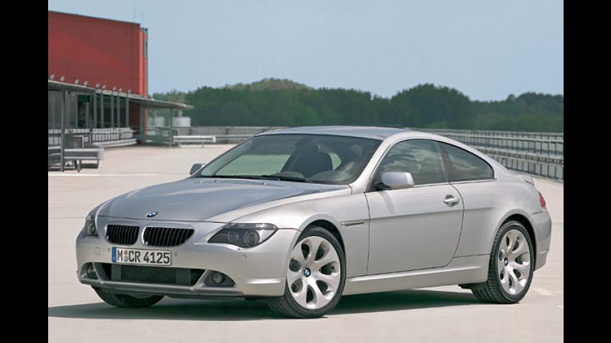 BMW 6er Coupé und Cabrio: Neuer Sechszylinder 630Ci