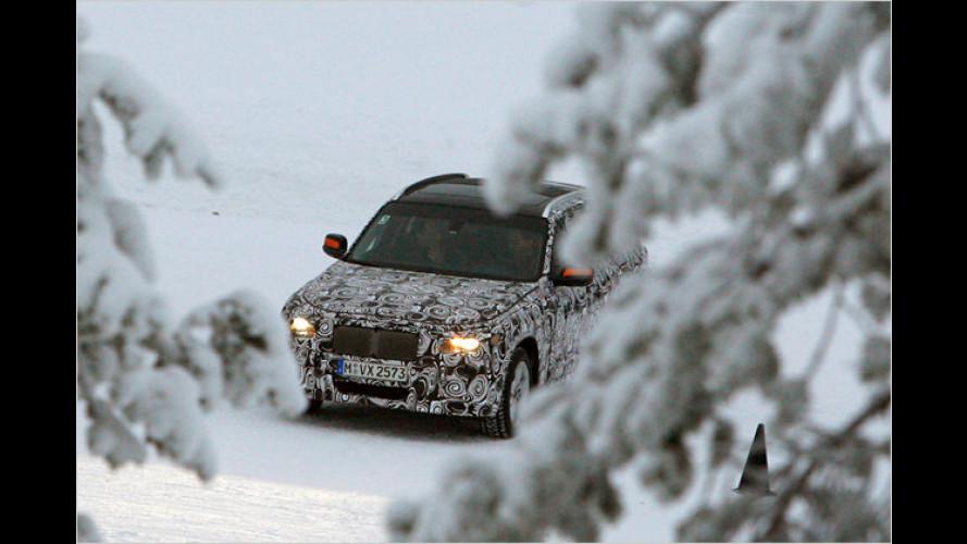 In der Vorerprobung: Die neuen BMW-X-Modelle 2009