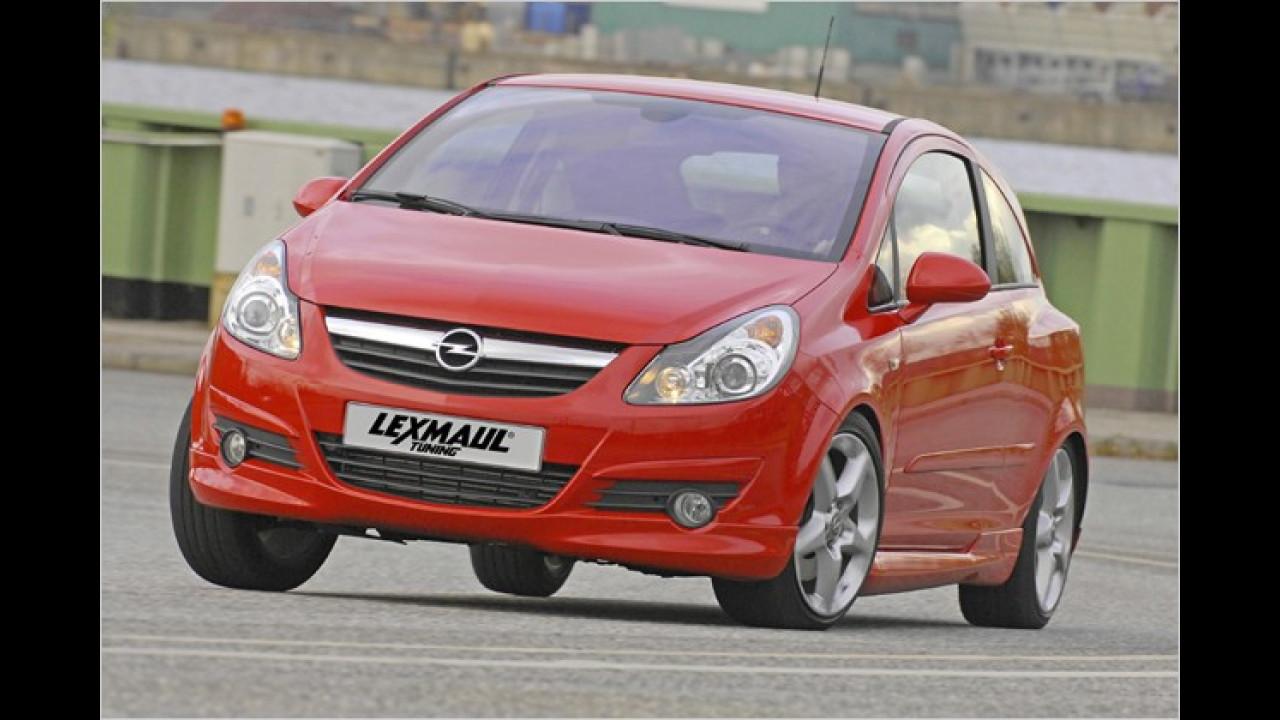Opel Corsa GSI getunt