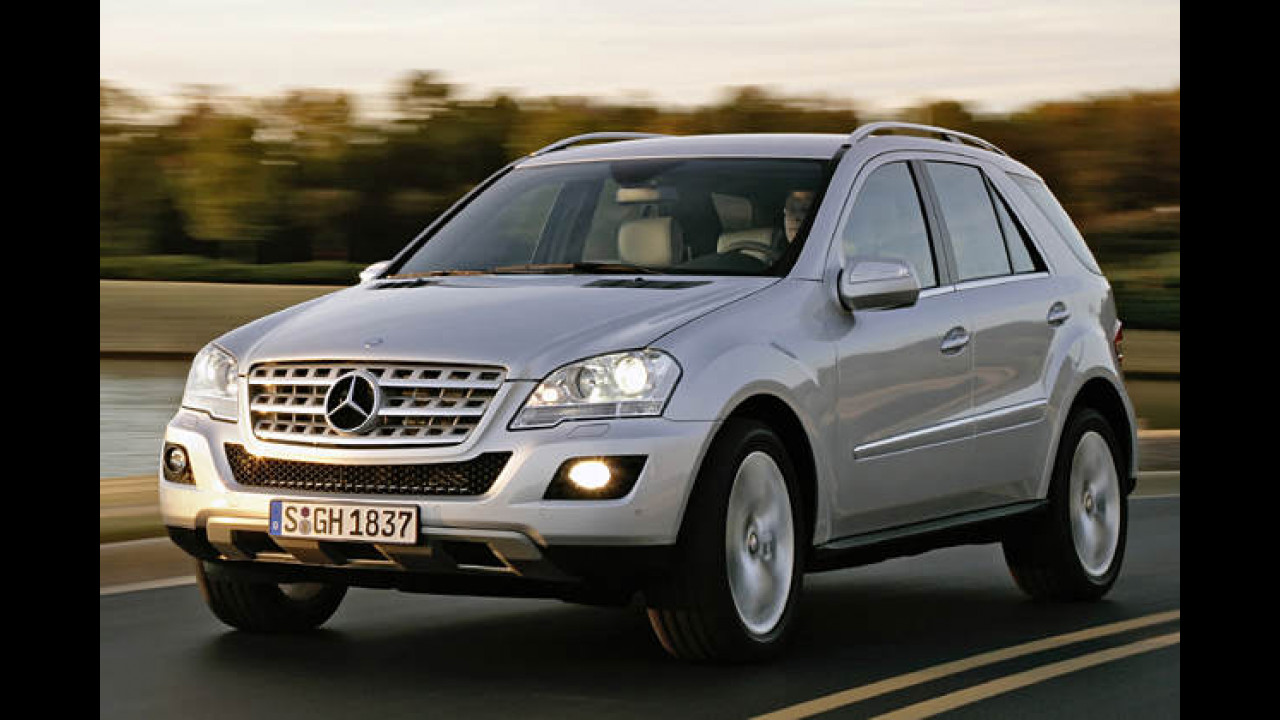 Mercedes ML 420 CDI 4Matic 7G-Tronic DPF