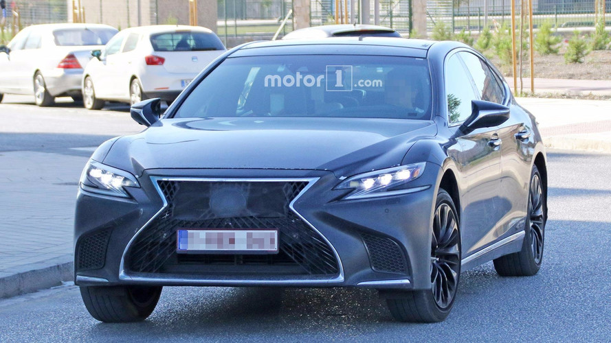 Lexus LS F With New Biturbo V8 Could Debut Next Month In Tokyo