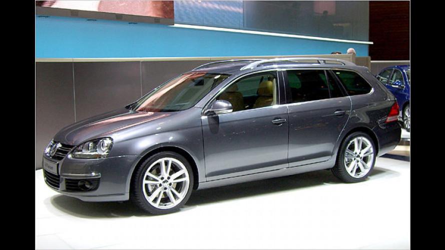 Volkswagen gibt Preise für den Golf Variant bekannt