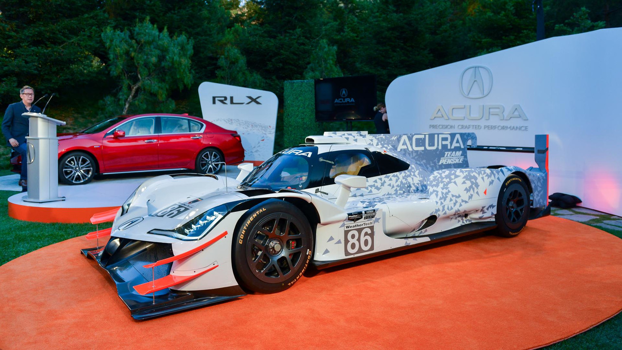 Acura ARX-05 Daytona Prototype Racecar - Monterey