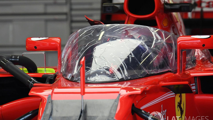 F1 - Escudo protetor do piloto aparece pela primeira vez em público