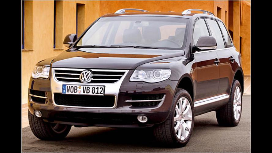 VW Touareg frisch gemacht: Vollgepackt mit Innovationen