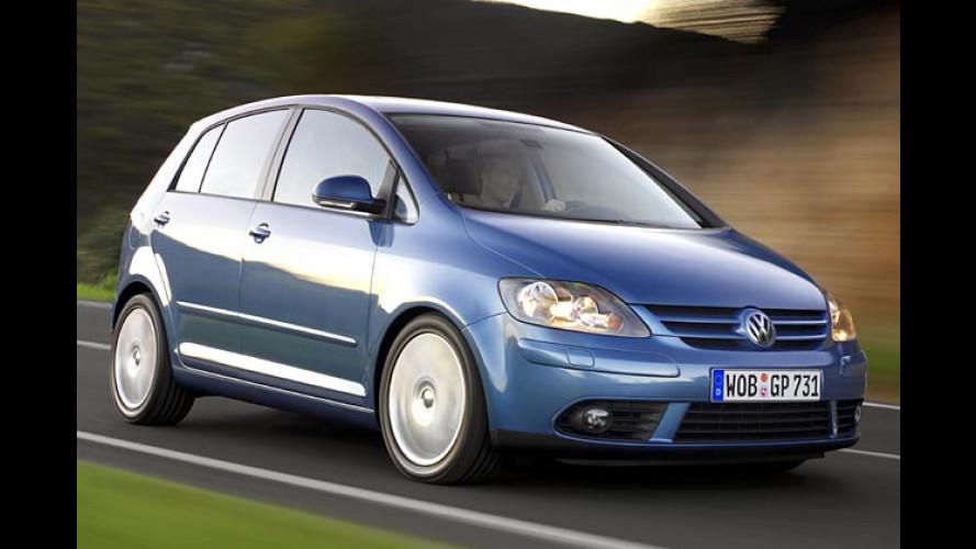Neu bei Volkswagen: Golf Plus 2.0 TDI mit DSG