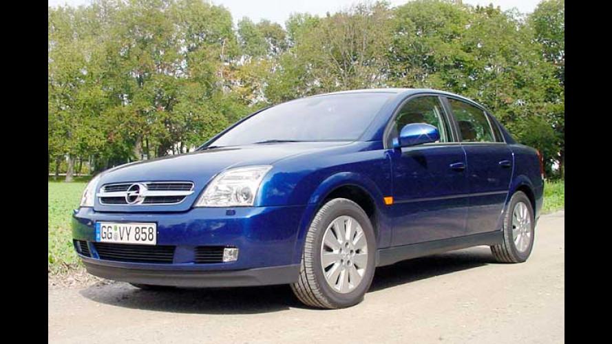 Einen Gang zugelegt: Opel Vectra 2.0 Turbo im Test